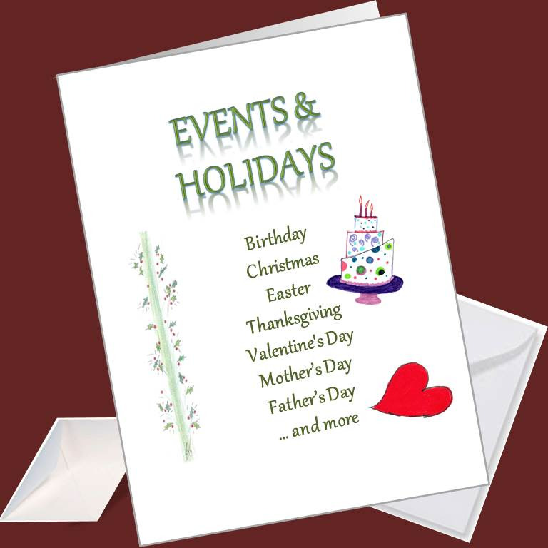 Events and Holiday